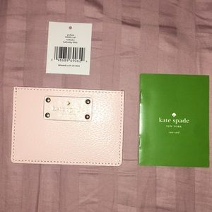 NWT brand new Kate spade card holder